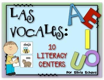FREE   Las Vocales: 1 CENTRO DE APRENDIZAJE