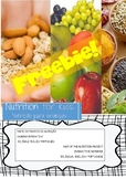 FREBBIE! NUTRITION FOR KIDS!