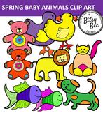 FREEBIE  SPRING BABY ANIMALS.