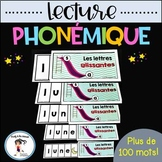 FRENCH Phonemic Reading 100+ Strips / Lecture phonémique +
