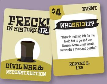 FRECK! JR In History: A US History Resource for 4th - 6th Graders