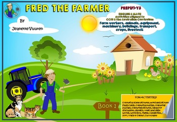 FARMING - AGRICULTURE - FRED THE FARMER BOOKS 1-3 INTEGRATED MATH & LITERACY ...