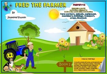 FARMING - AGRICULTURE - FRED THE FARMER BOOK 1 of 3 - farm