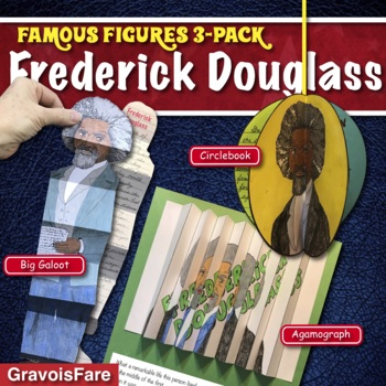 FREDERICK DOUGLASS Activities: 3 Hands-On Projects and Foldable Craftivities