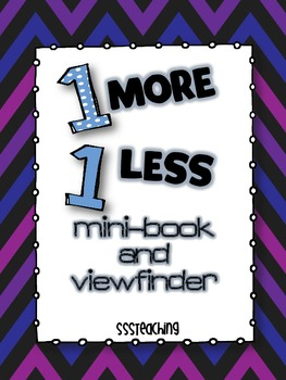 FREE 1 more, 1 less Mini-book!