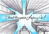 FREE 1 point perspective: looking up