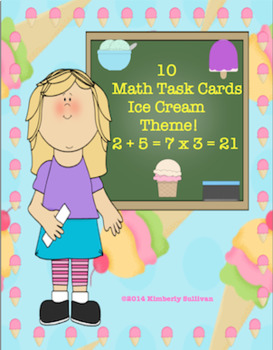 Free Downloads Math Task cards
