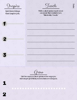 Guided Journaling Pages- FREE