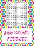 FREE 100 Chart Poster