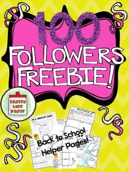 {FREEBIE} 100 Followers!