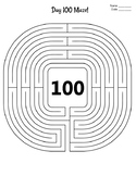 FREE - 100th Day of School Activity