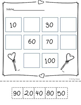 FREE 100th Day of School on Valentine's Day