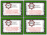 FREE 12 Days of Christmas Tags {for Teacher, from student}