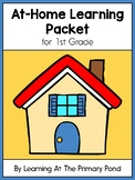 FREE 1st Grade At-Home Learning Packet