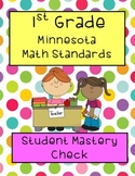 1st grade Minnesota Math Standards Student Documentation