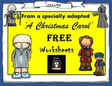 FREE 2 A Christmas Carol activities (Taken from my adapted bundle)