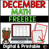 FREE! 2 Holiday pages with answer keys from December No Pr