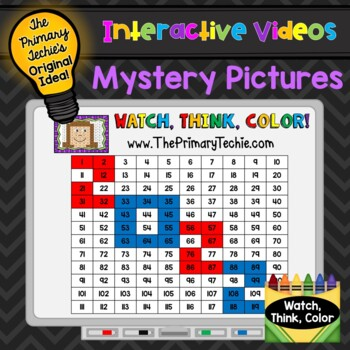 FREE 2018 Watch, Think, Color Games! by The Primary Techie | TpT