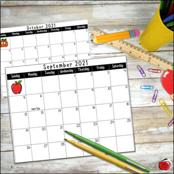 FREE 2019-2020 School Year Calendar