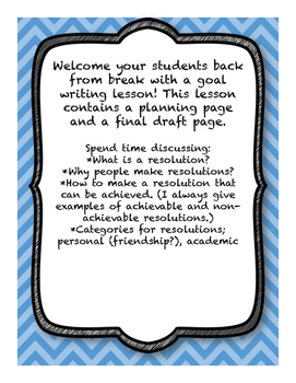 FREE 2016 Resolutions Writing