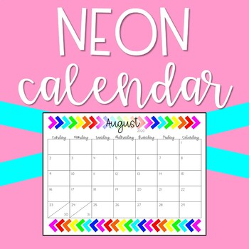 FREE 2018-2019 Calendar