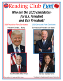 FREE 2020 Candidate Crosswords - Trump Pence Biden Harris