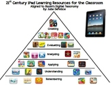 FREE! 21st Century iPad Apps Pyramid to Use in the Flipped Classroom