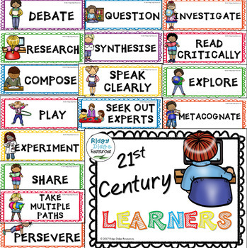 FREE 21st century learner skills posters