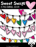 Heart Swags Clipart