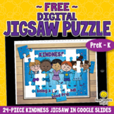 FREE 24-Piece DIGITAL JIGSAW PUZZLE about KINDNESS for K,