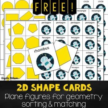 FREE 2D Shape Cards for sor... by Angela Watson | Teachers Pay ...