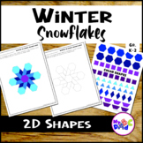 2D Shape Snowflake Pattern Starters