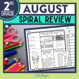 FREE Second Grade Math Homework or 2nd Grade Morning Work SAMPLE PACK