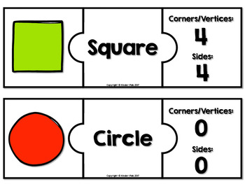 FREE 2d Shapes Puzzles