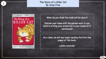 FREE 2nd Class: Recounts - 'The Diary of a Killer Cat'  (Lesson 1/10)