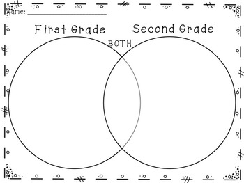 FREE - 2nd Grade Back to School Graphic Organizers