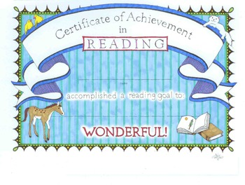 FREE 3 Bookmarks and Reading Certificate of Achievement
