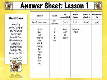FREE: 3rd Grade - Help! I Can't Read Multisyllabic Words - Journeys