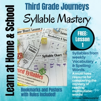 FREE: 3rd Grade - Help! I Can't Read Multisyllabic Words -