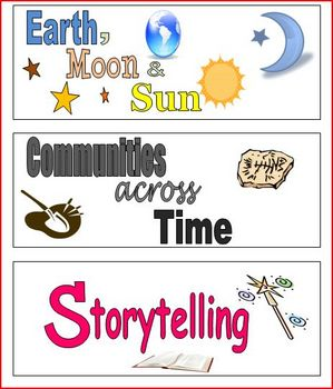 FREE 3rd Grade Imagine It Theme Labels