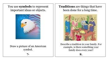 FREE! 3rd Grade Reading Wonders Unit 1 Week 2 Vocabulary Task Cards