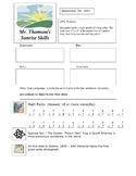 FREE 3rd Grade Warm Up Bell Ringer Activities - Sunrise Skills