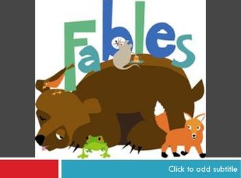 FREE! 3rd grade ELA Fables RL 3.1 and 3.2