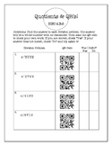 FREE 4 Digit Division Worksheet with QR Codes