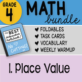 Math Doodle - FREE! 4th Grade Place Value Interactive Notebook Bundle 1