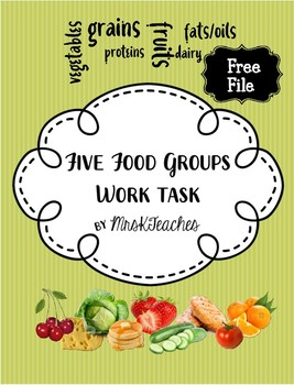 Free 5 food groups work task autism work jigtask boxes free free 5 food groups work task autism work jigtask boxes free forumfinder Choice Image