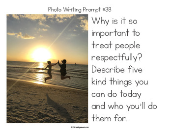 FREE Writing Prompts About Kindness #kindnessnation #weholdthesetruths