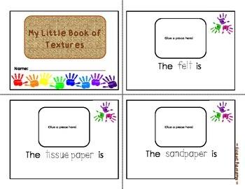 *FREE* 5 Senses: Little Texture Book (Touch)
