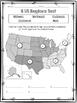 FREE- 5 US Regions Map Test