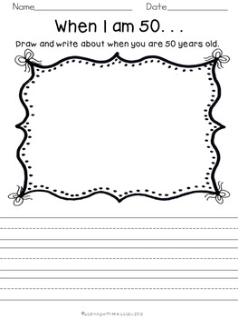 FREE 50th Day of School Activities